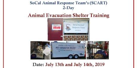 Animal Evacuation Shelter Training - 2 Days tickets