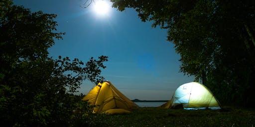 Nuitée sur les berges de la rivière des Prairies
