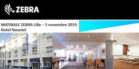 Invitation EET Europarts - Matinale Zebra - Lille  - 5 Novembre 2019 billets