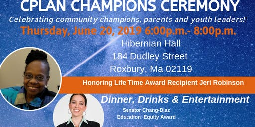 3rd Annual CPLAN Community Champion Awards