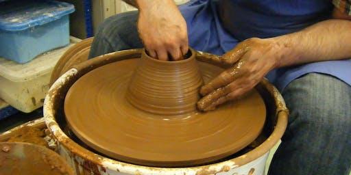 Ceramics: Wheelthrown pots