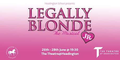 Legally Blonde JR tickets
