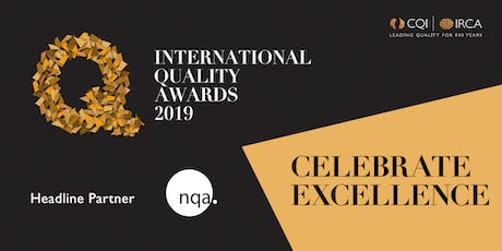 2019 International Quality Awards Ceremony tickets