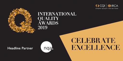 2019 International Quality Awards Ceremony