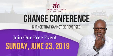 CHANGE Conference London  tickets