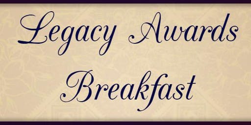 2nd Annual Legacy Awards Breakfast