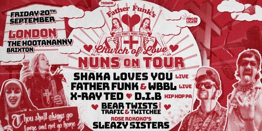 Father Funk's Church Of Love in London!