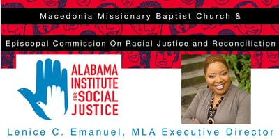 An Evening with Ms. Lenice C. Emanuel, Alabama Institute for Social Justice