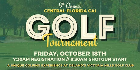 9th Annual CAICF Golf Tournament tickets