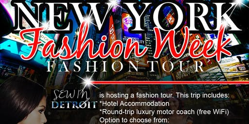 New York Fashion Week Bus Trip
