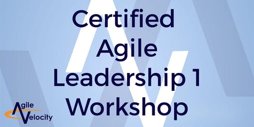 Certified Agile Leadership I Workshop (CAL) - Dallas/Plano