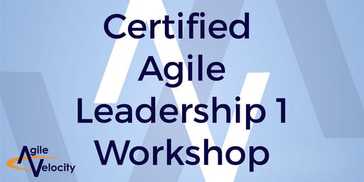 Certified Agile Leadership I Workshop (CAL) - Austin