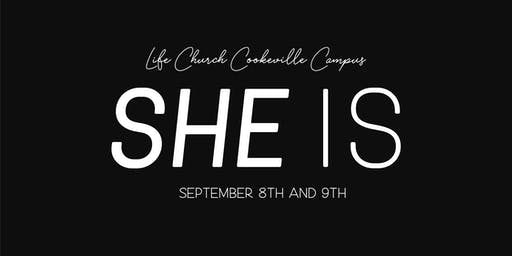 SHE IS Women's Conference 2019