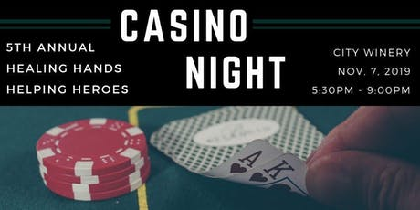 5th Annual Healing Hands Helping Heroes - Casino Night tickets