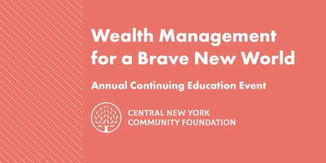Wealth Management for a Brave New World tickets