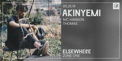 Akinyemi @ Elsewhere (Zone One)