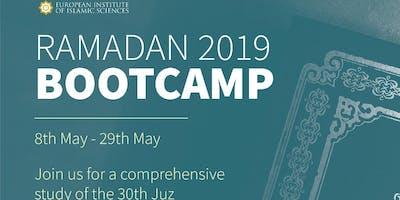 Ramadan Bootcamp 2019 - Tafseer of Juz Amma