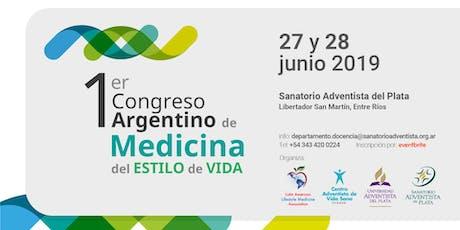 I Congreso Argentino de Medicina de Estilo de Vida entradas