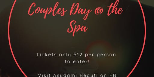 Couples Day @ the Spa