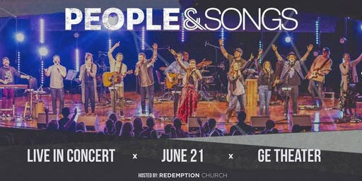 Live in Concert. Night of Worship with People and Songs.