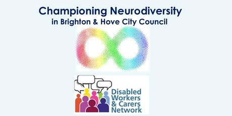 Championing Neurodiversity within Brighton & Hove City Council tickets