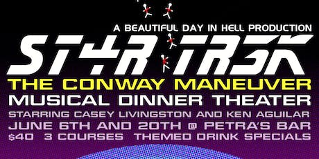 ST4R TR3K: The Conway Maneuver  tickets