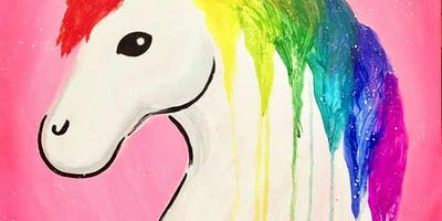 Rainbow Unicorn Paint Party!