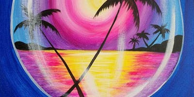 Sipping at Sunset Saturday Paint Party