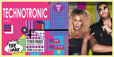 TECHNOTRONIC at THE MAX 90'S PARTY