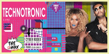 TECHNOTRONIC at THE MAX 90'S PARTY tickets