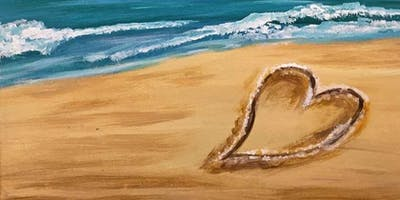 Heart in the Sand Sunday Night Paint Party