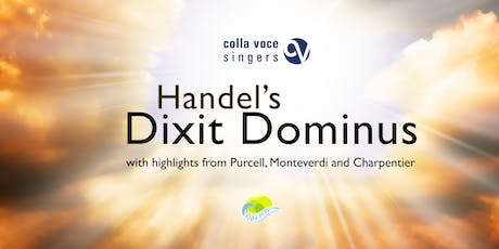 Handel's Dixit Dominus & highlights from Purcell, Monteverdi & Charpentier tickets