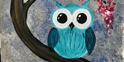 Memorial Day Family Paint Party! Hoot!