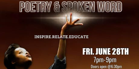 Poetry & Spoken Word (June 28th) tickets