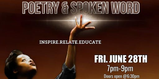 Poetry & Spoken Word (June 28th)