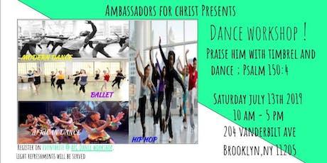 AFC Dance Workshop tickets