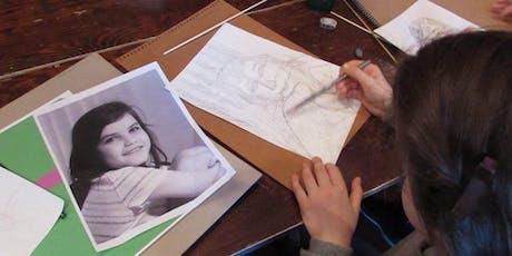 Teen Portraiture Art Workshop tickets