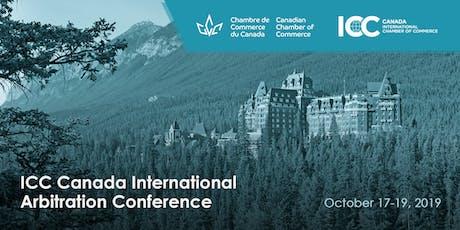 ICC Canada International Arbitration Conference | Congrès de la ICC Canada sur l'arbitrage international tickets