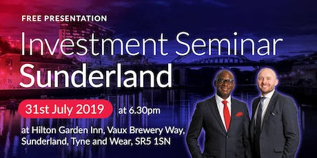 Buy2LetCars Investment Seminar - Sunderland tickets