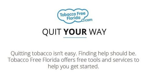 Tobacco Free Florida Tools to Quit