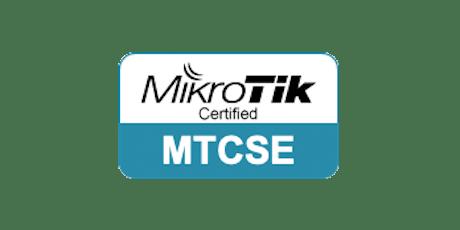 MikroTik MTCSE Training tickets