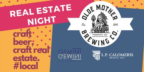 Real Estate Night tickets