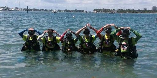 Kids Jr Open Water SCUBA Camp
