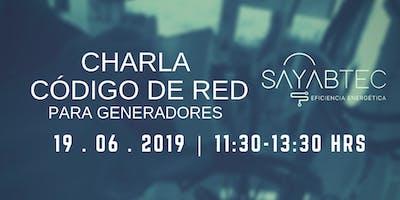 CHARLA CÓDIGO DE RED PARA GENERADORES