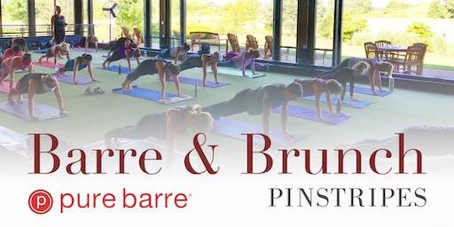 Barre & Brunch at Pinstripes North Bethesda