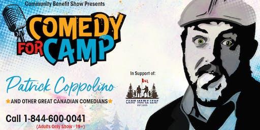 Brampton Comedy For Camp - Patrick Coppolino & More!
