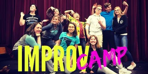 Summer IMPROV Camp (Ages 10-17)