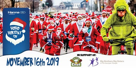 HoHoHoliday 5K - Collingwood, ON tickets