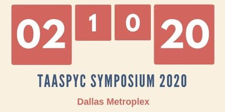 TAASPYC SYMPOSIUM 2020 tickets