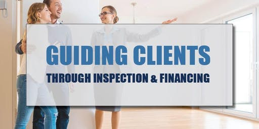 CB Bain | Guiding Clients-Inspection & Financing (3 CE-WA) | Vancouver East | Nov 14th 2019